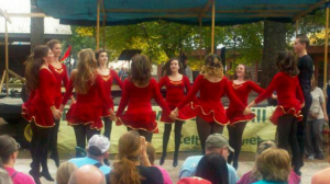 Part of the Group of dancers at the Celtic Festival