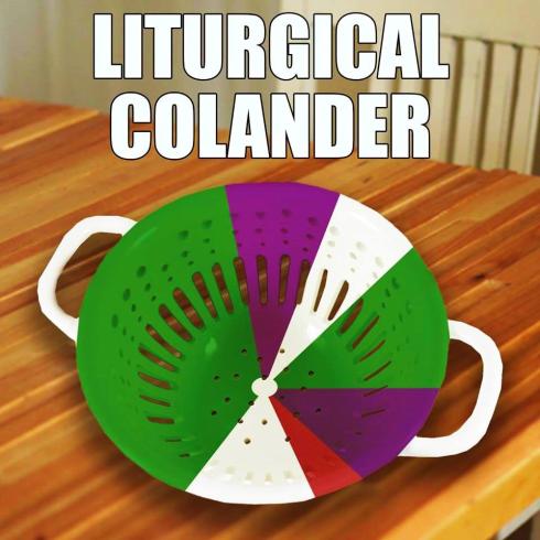 Liturgical colander