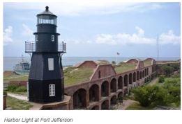 Ft. Jefferson light